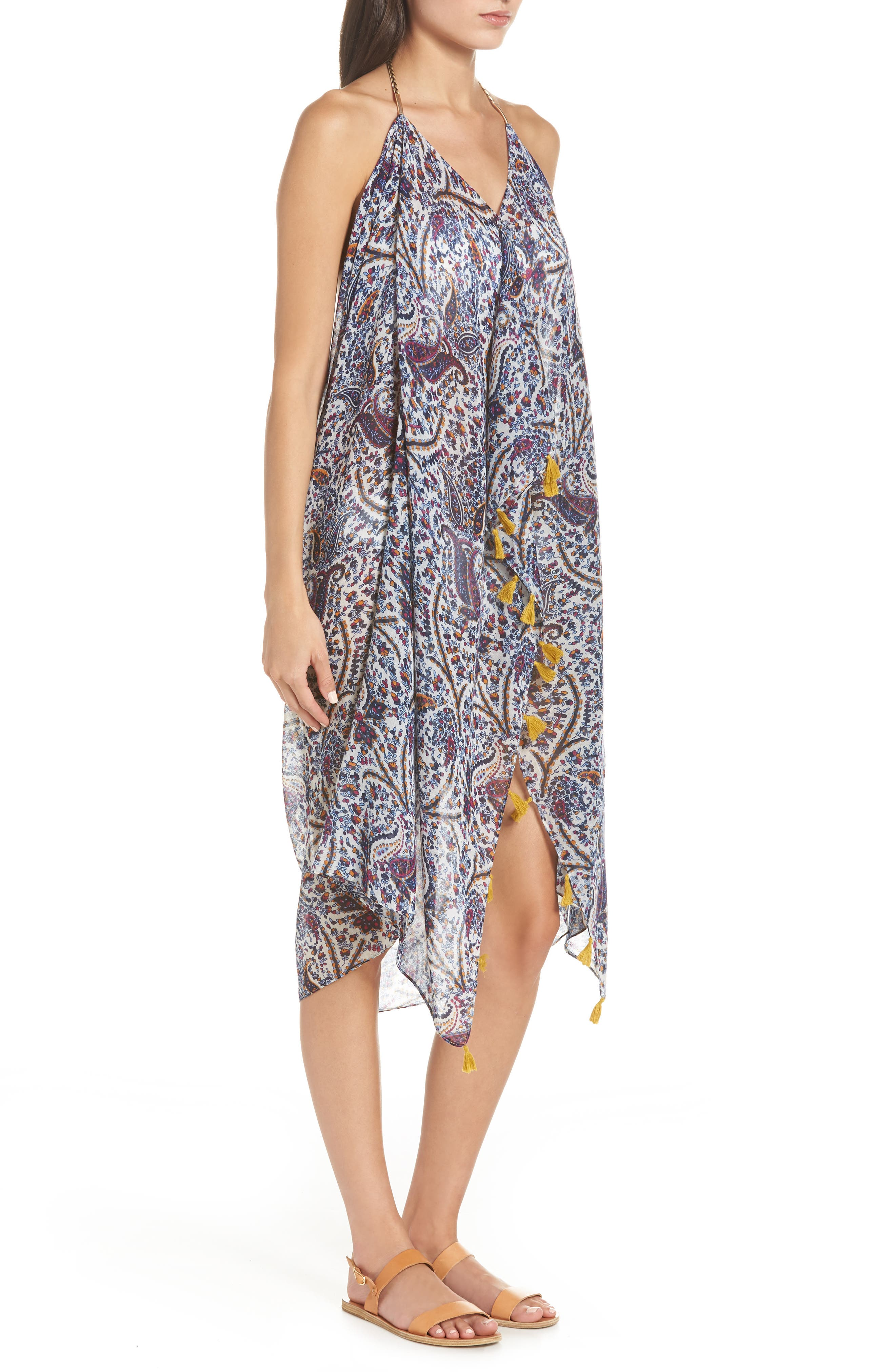 ,                             Beach to Street Cover-Up Dress,                             Alternate thumbnail 4, color,                             YONDER MOUNTAIN