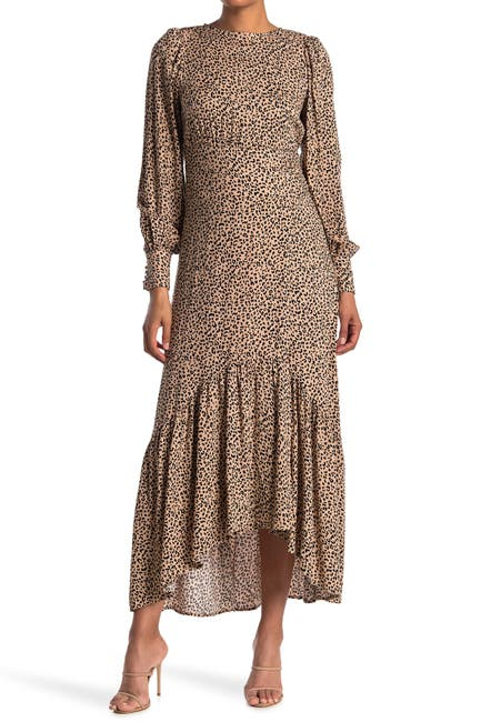 Image of AFRM Gilda Back Cutout Dress