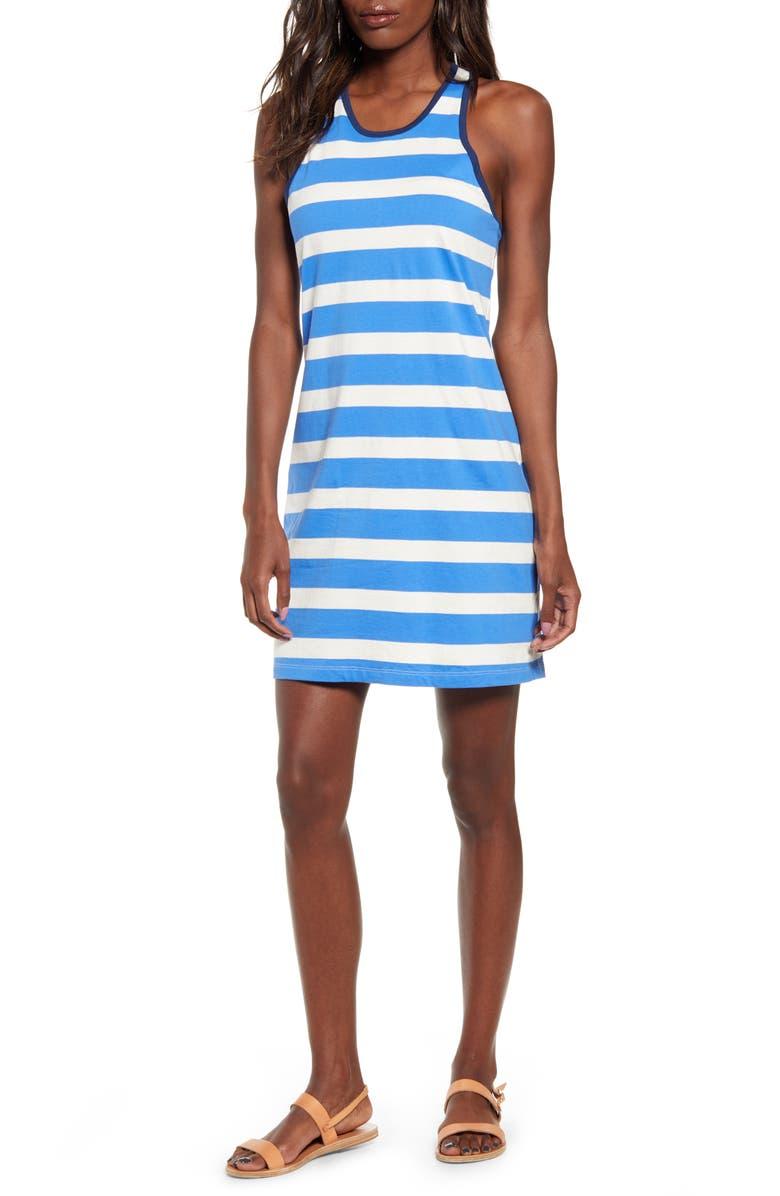 SPLENDID Sailboat Stripe Racerback Dress, Main, color, 400