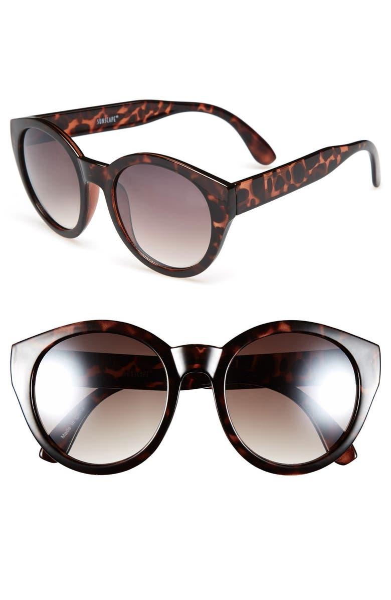 BP. Oversize Round 52mm Sunglasses, Main, color, 200