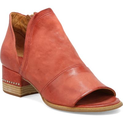 A.s.98 Miles Peep Toe Bootie - Red