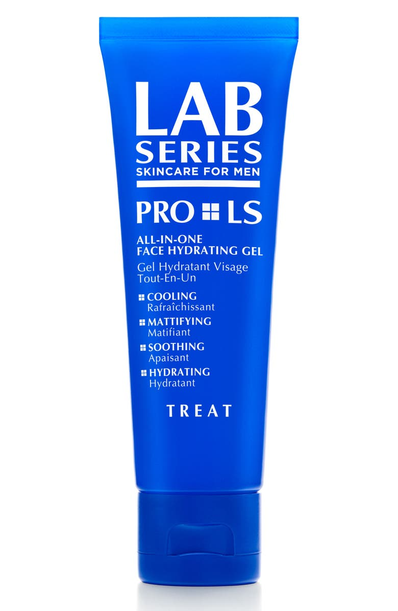 LAB SERIES SKINCARE FOR MEN PRO LS All-in-One Face Hydrating Gel, Main, color, NO COLOR