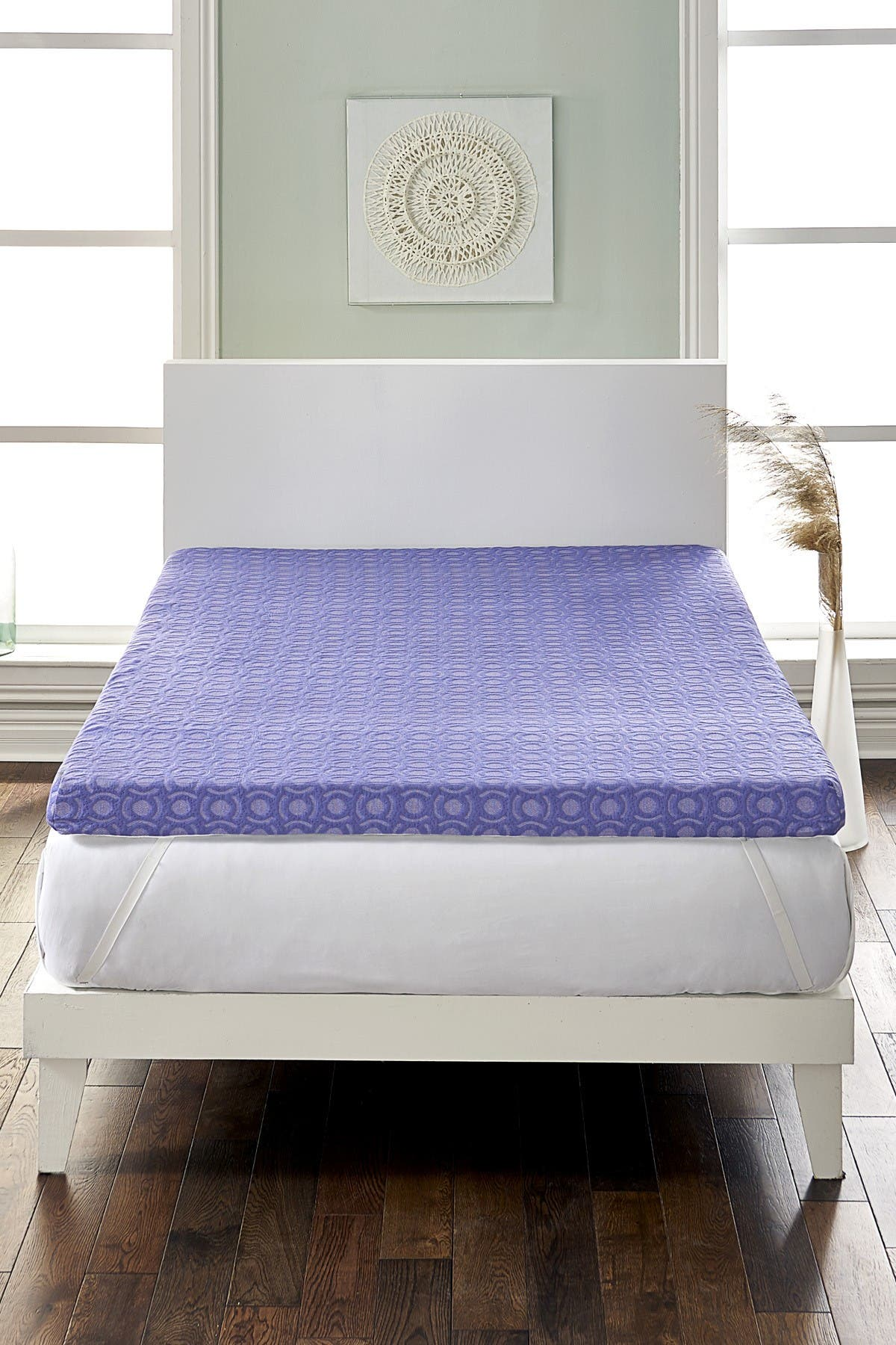 Rio Home Loftworks 4 Supreme Memory Foam Mattress Topper With Medium Firm Support Full Nordstrom Rack