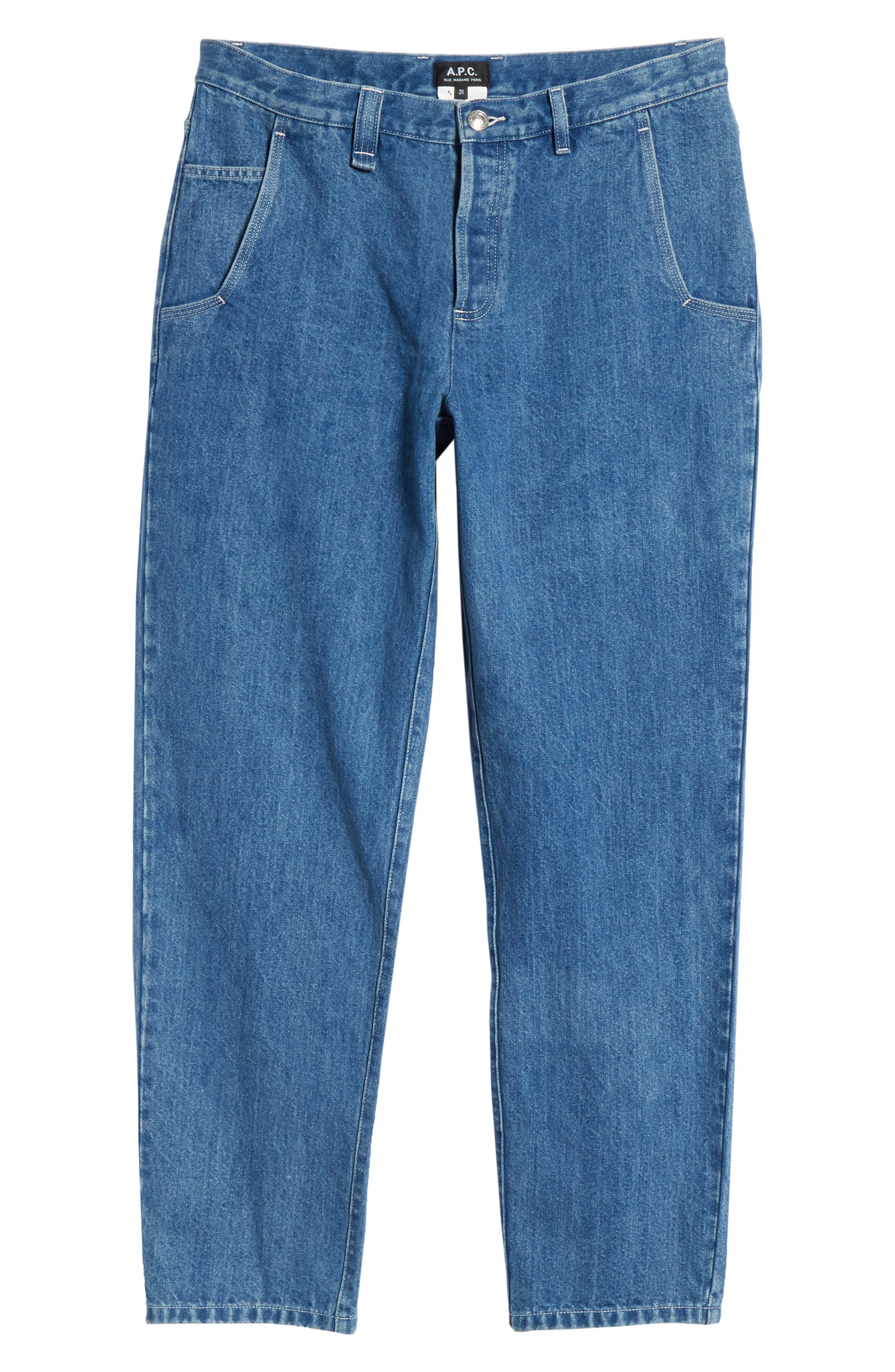 ,                             Carpenter Jeans,                             Alternate thumbnail 6, color,                             BLUE