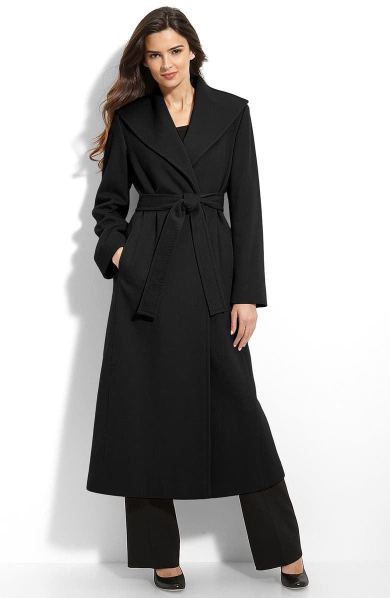 fresh styles big sale world-wide free shipping Long Cashmere Wrap Coat