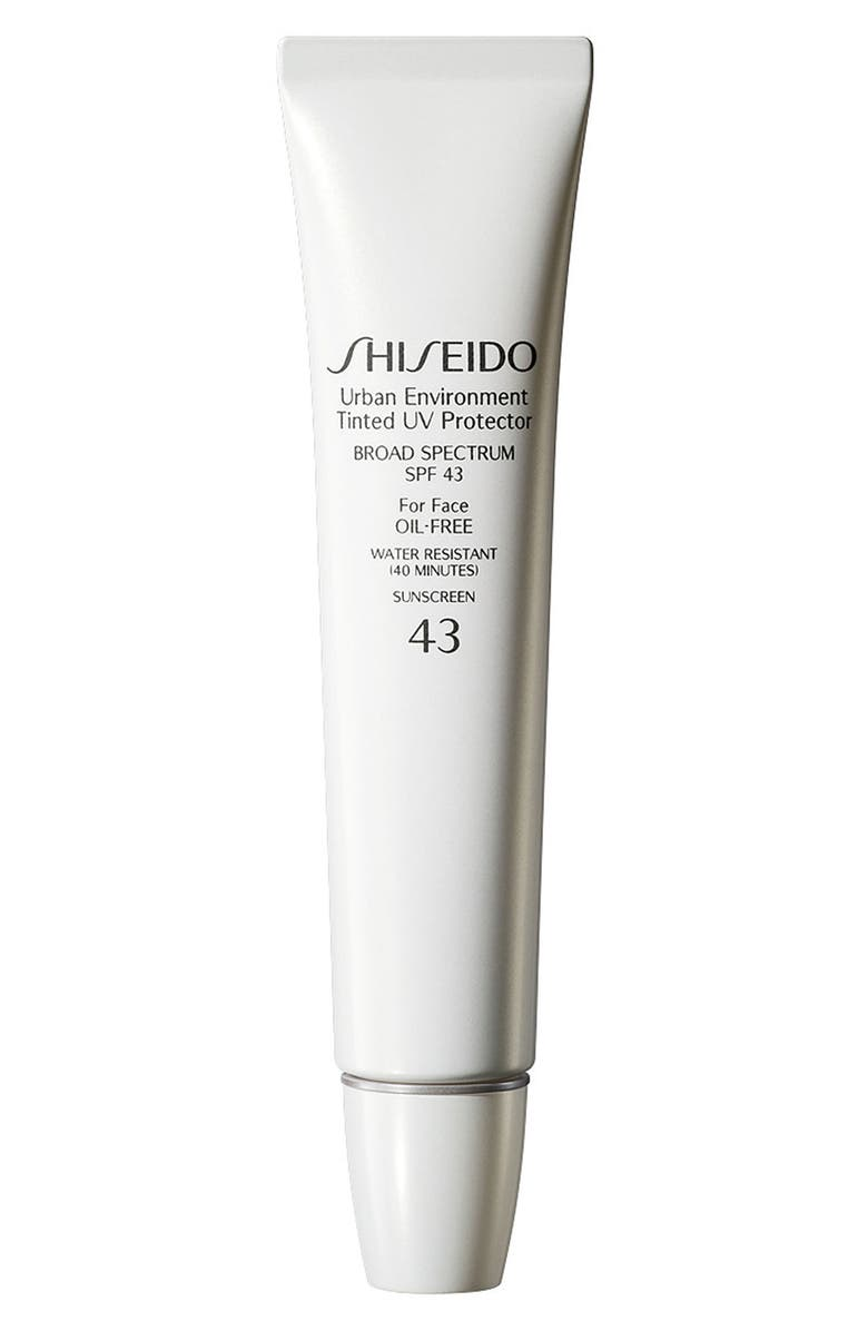 SHISEIDO Urban Environment Tinted UV Protector Broad Spectrum SPF 43, Main, color, 2-2