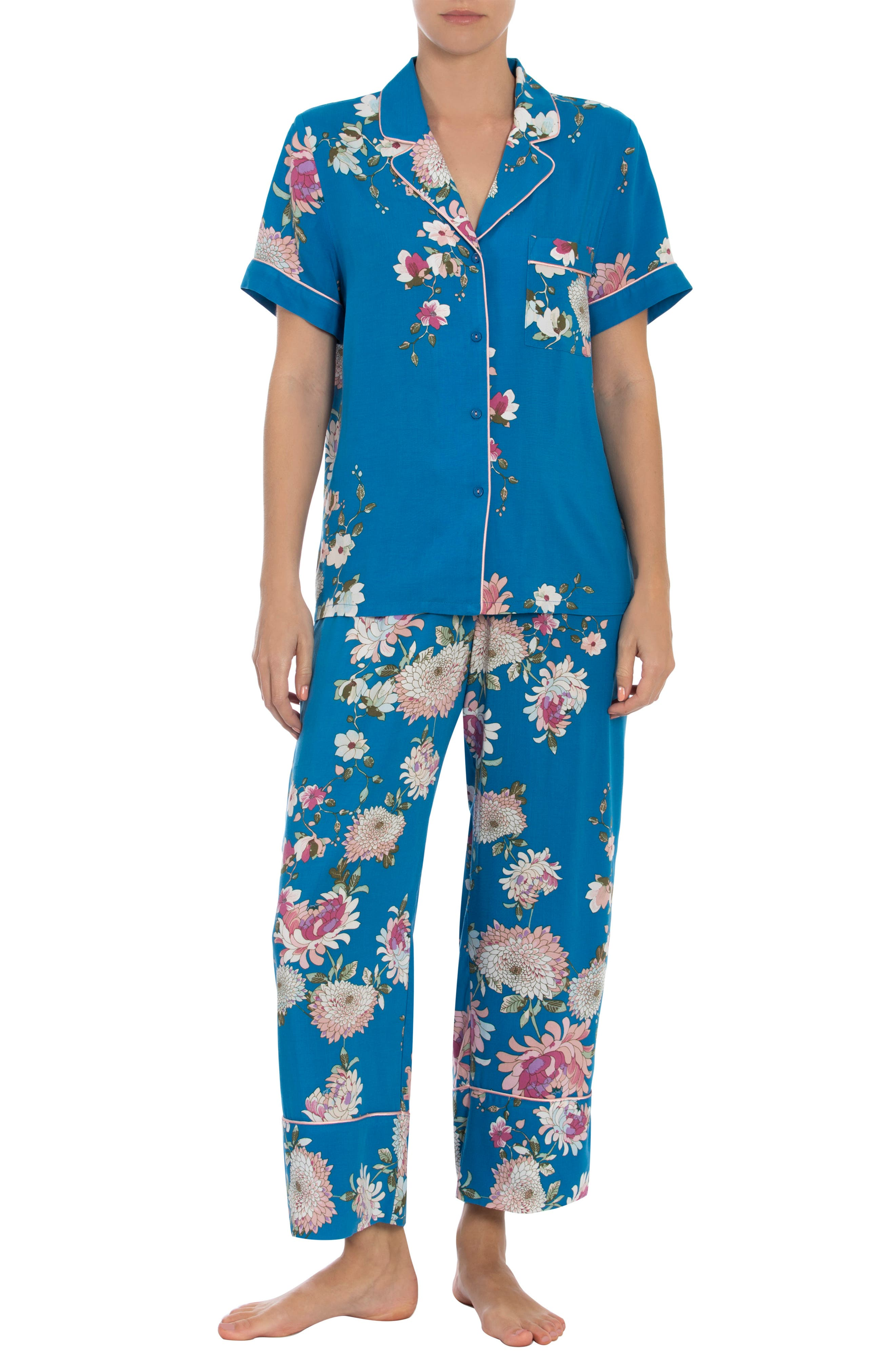 Montego Crop Pajamas