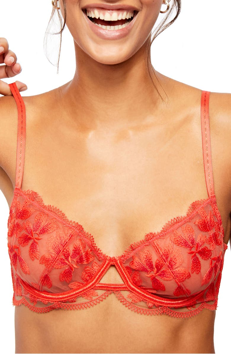 FREE PEOPLE Intimately FP Danielle Underwire Bra, Main, color, POP NUDE COMBO