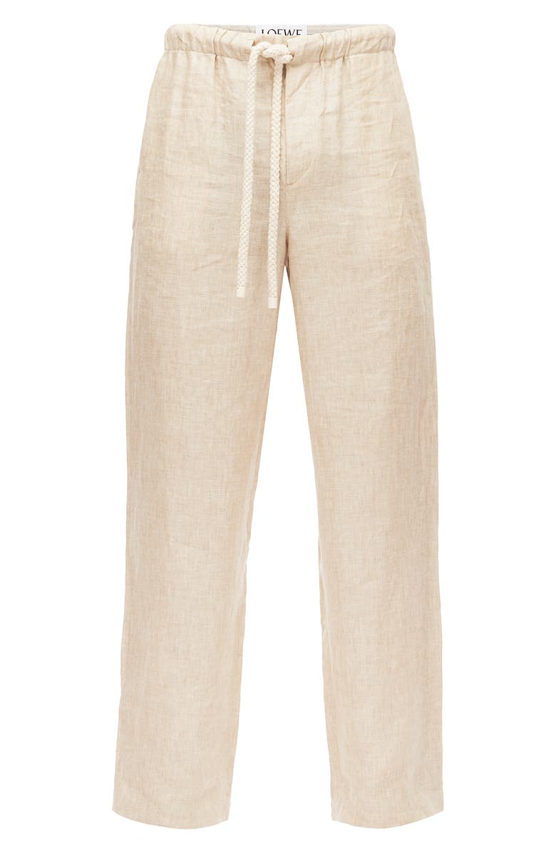 LOEWE Linen Pajama Trousers, Main, color, 250