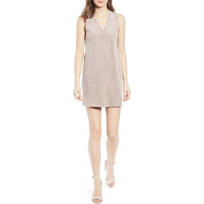 Bishop + Young Sleeveless Shift Dress, Brown
