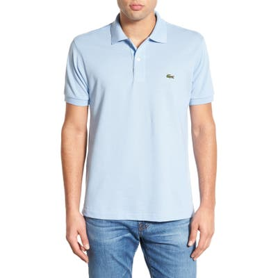 Lacoste L1212 Regular Fit Pique Polo, Blue