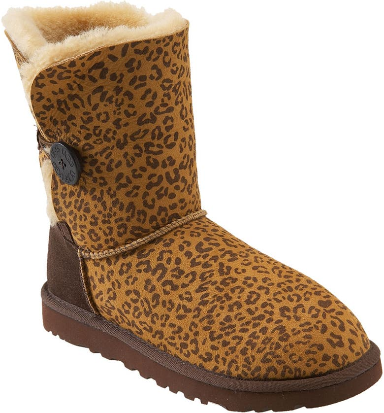 271917adb10 Australia 'Bailey Button' Leopard Print Boot