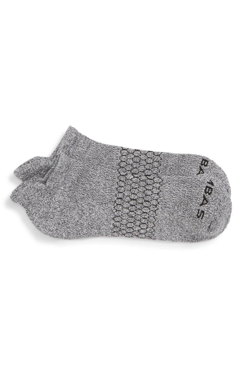 BOMBAS Marl Ankle Socks, Main, color, MARLED LIGHT CHARCOAL
