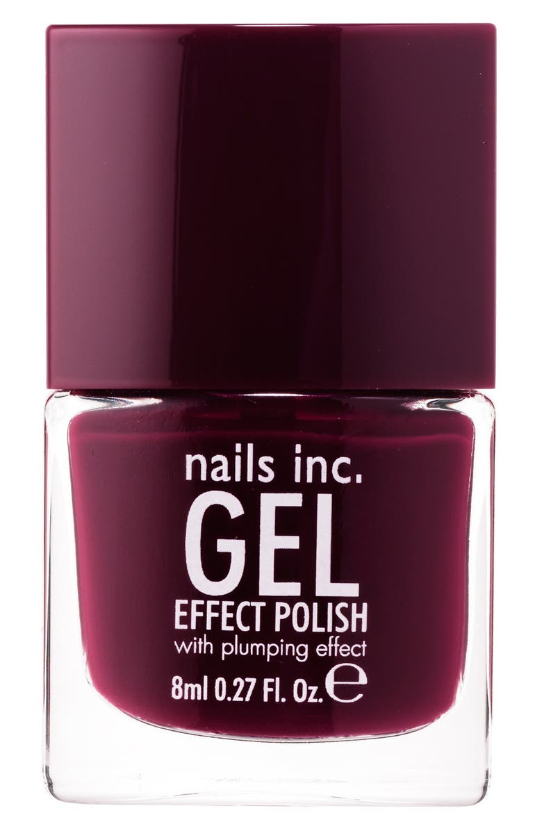 NAILS INC. LONDON 'Gel Effect' Nail Polish with Plumping Effect, Main, color, 200