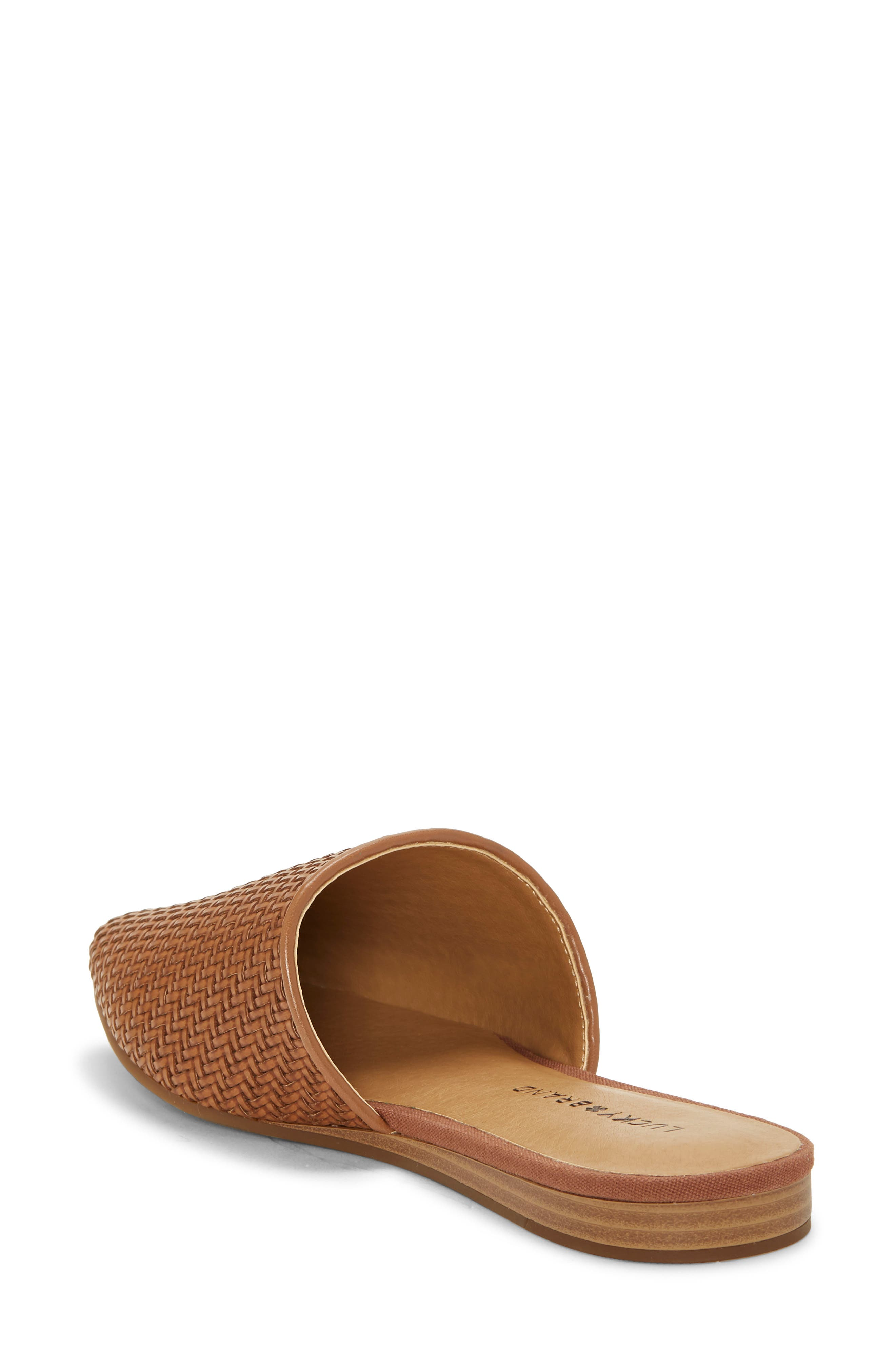 ,                             Bradell Pointy Toe Mule,                             Alternate thumbnail 2, color,                             UMBER LEATHER