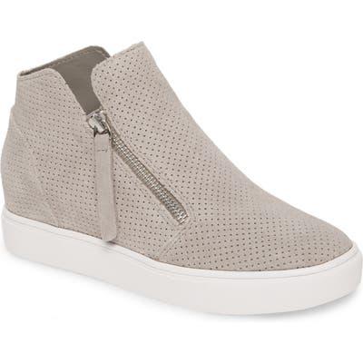 Steve Madden Caliber High Top Sneaker, Grey