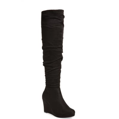Chinese Laundry Larisa Over The Knee Boot, Black
