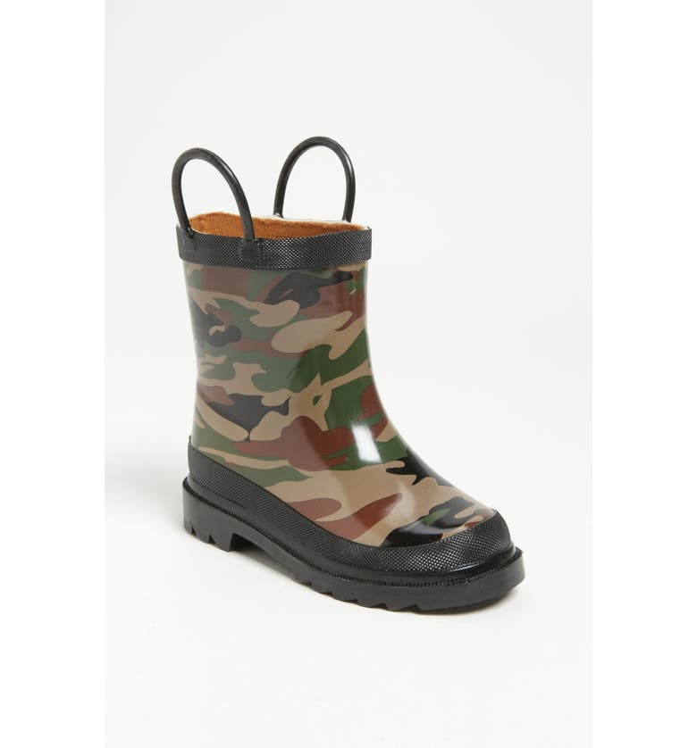 WESTERN CHIEF Camo Waterproof Rain Boot, Main, color, 300