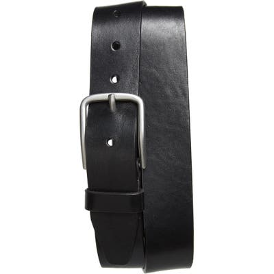 Nordstrom Shop Rhodes Leather Belt, Black