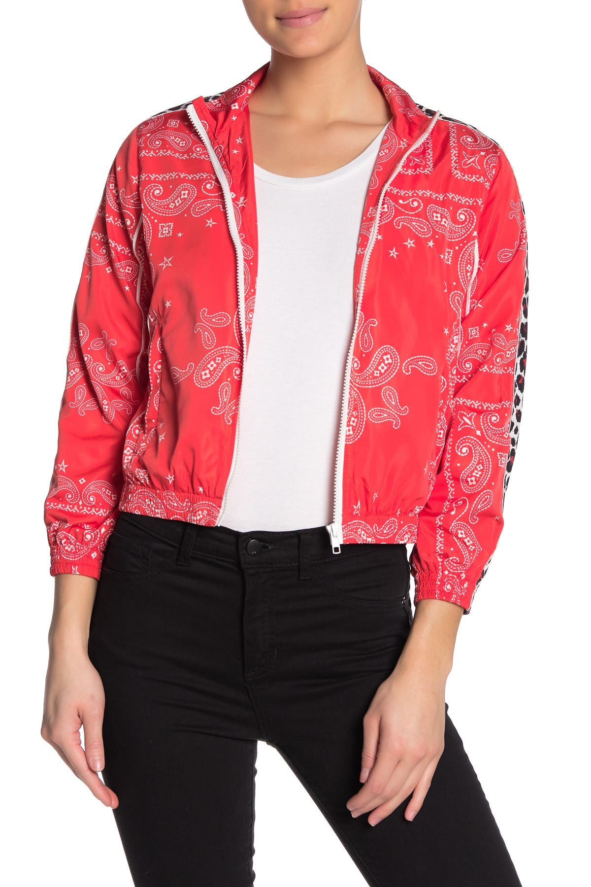 Pam And Gela Bandana Print Jacket Nordstrom Rack