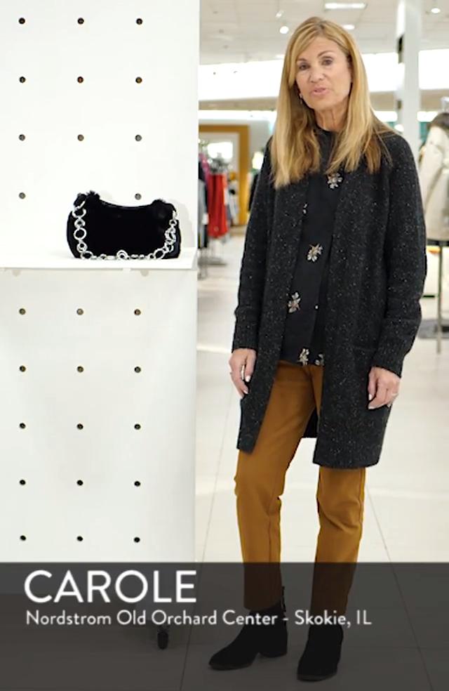 Faux Fur Shoulder Bag, sales video thumbnail