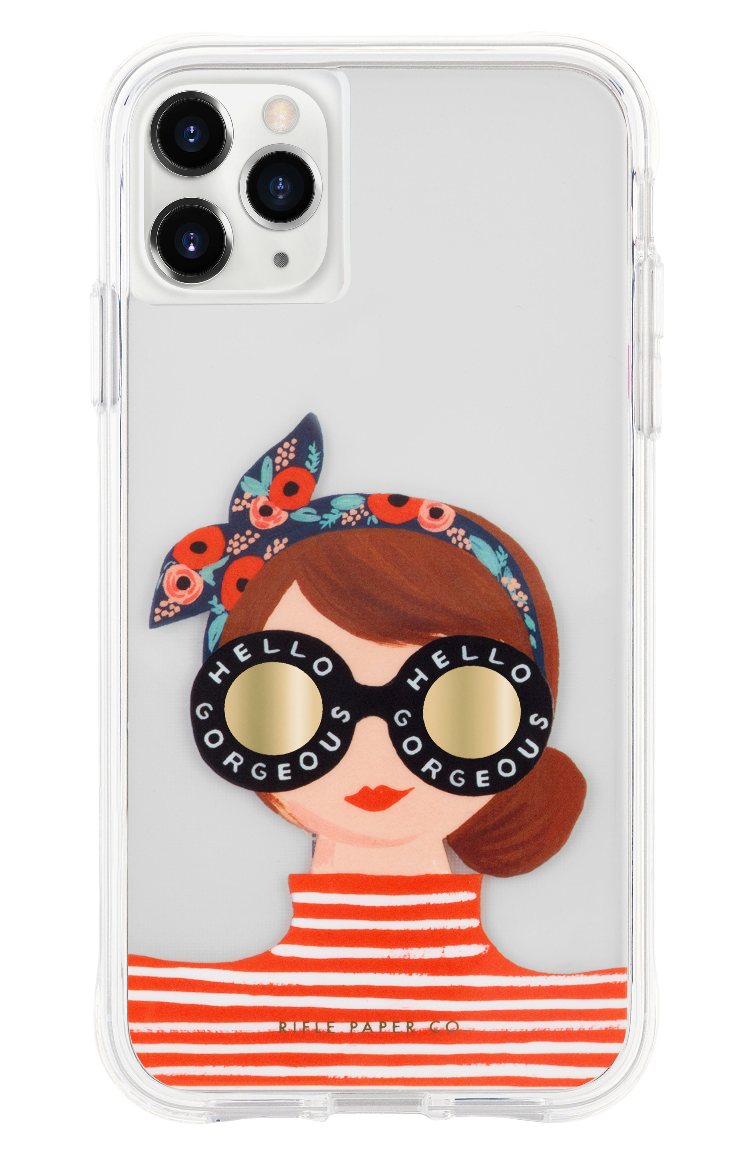 Case-mate Iphone 11 Rifle Paper Gorgeous Girl Case In Multi