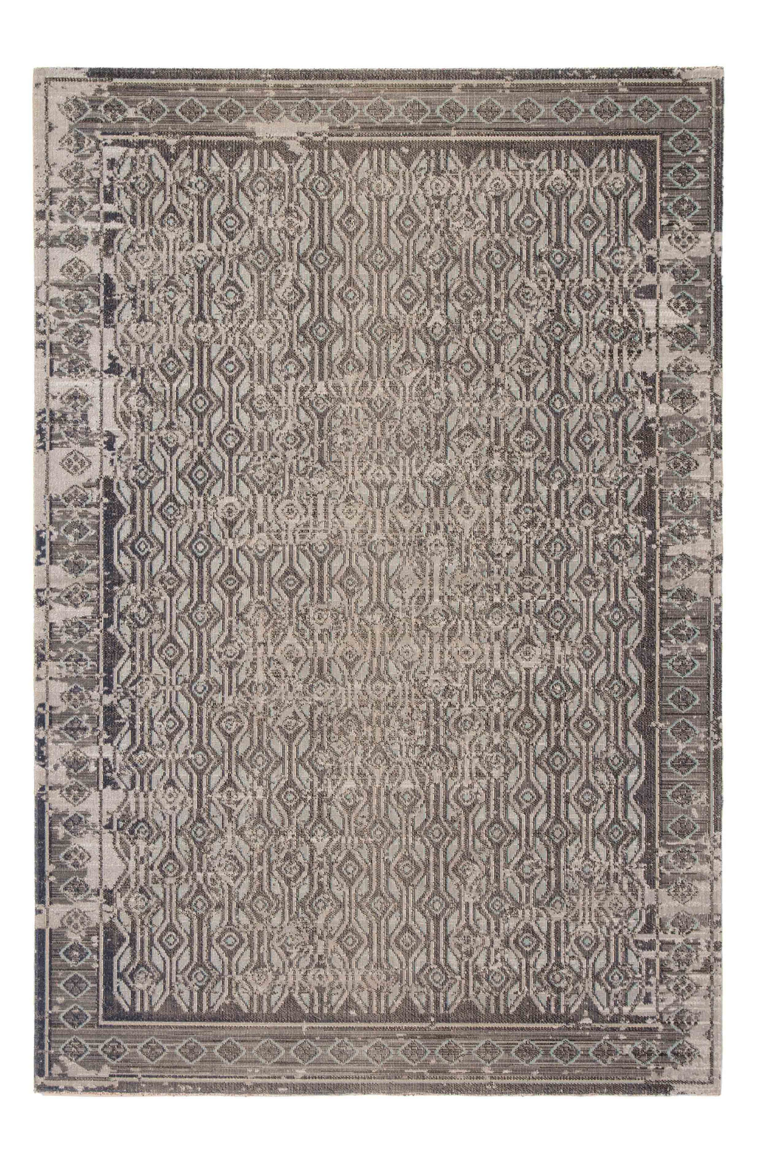 Mandy Area Rug, Main, color, TAUPE BLACK