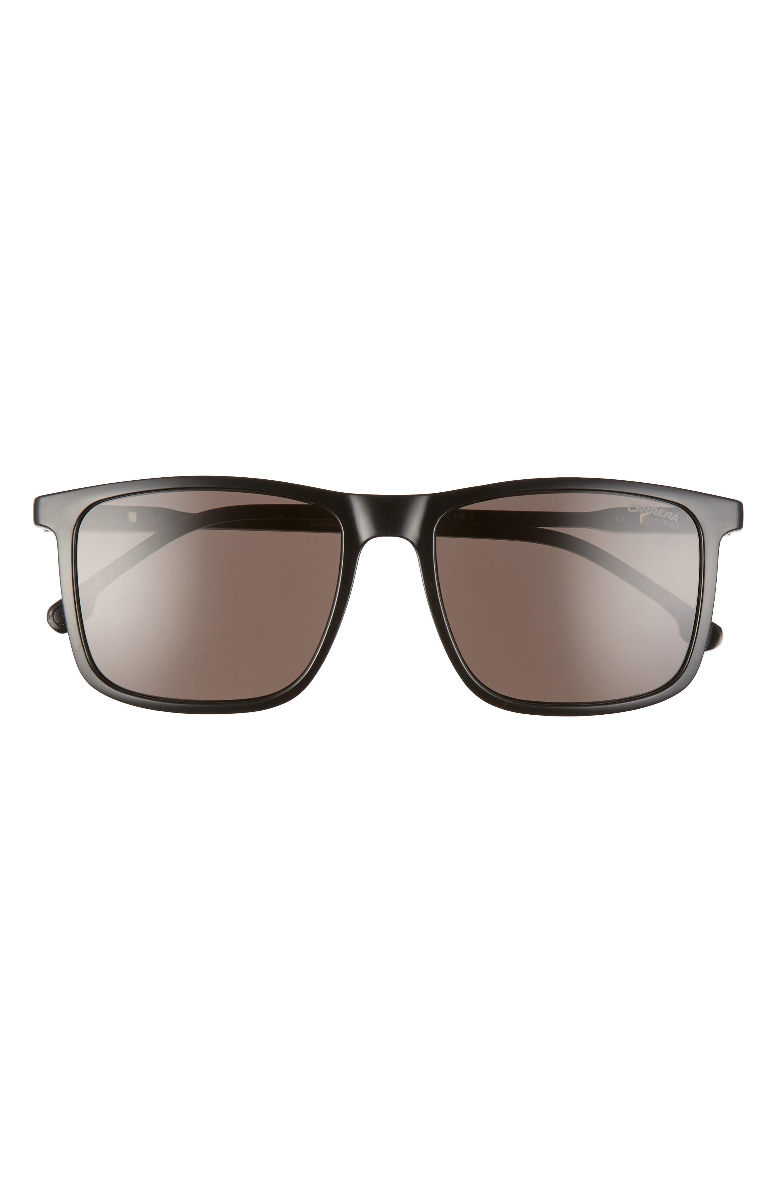55mm Rectangular Polarized Sunglasses