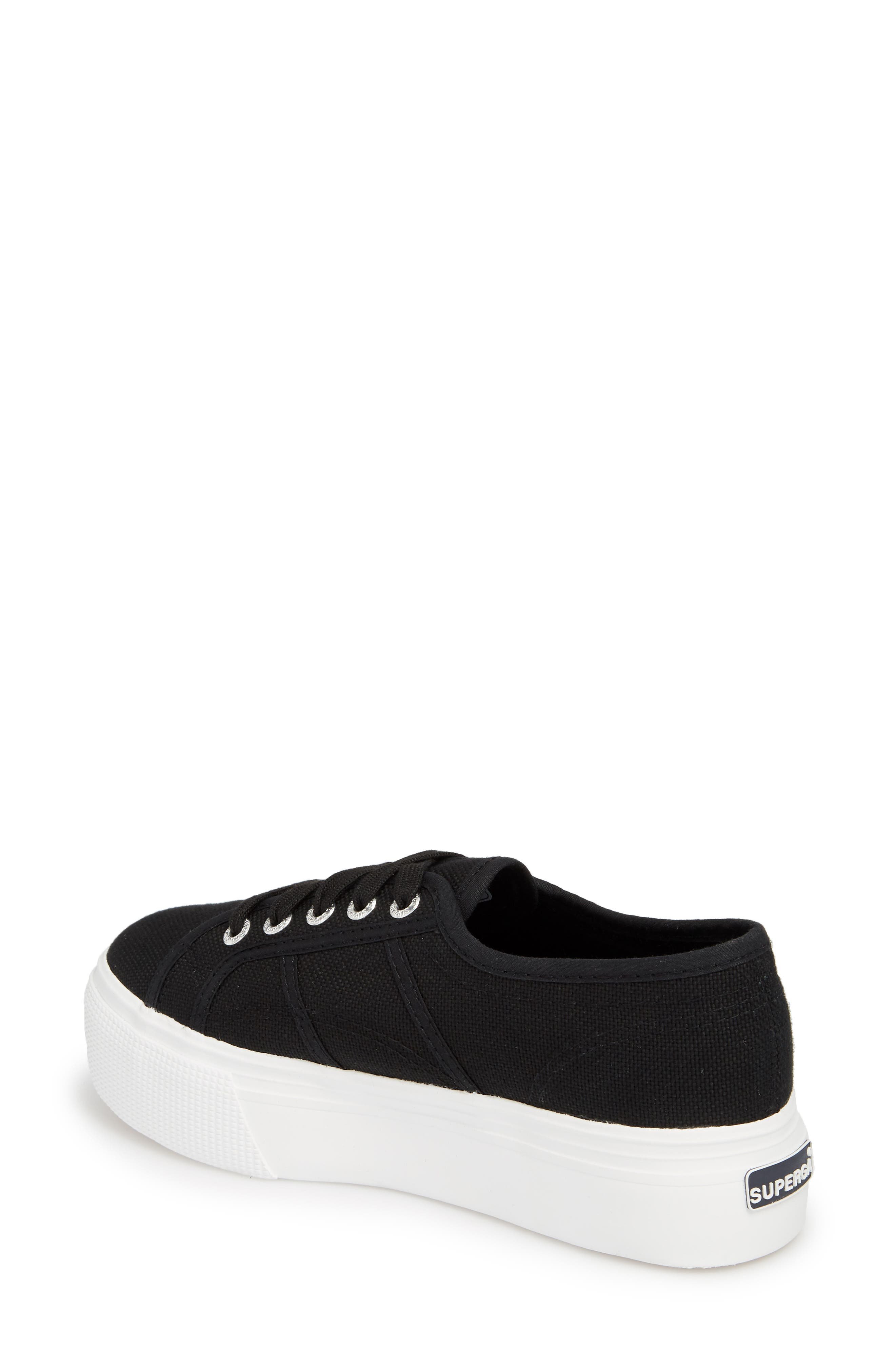 ,                             'Acot Linea' Sneaker,                             Alternate thumbnail 2, color,                             BLACK/ WHITE