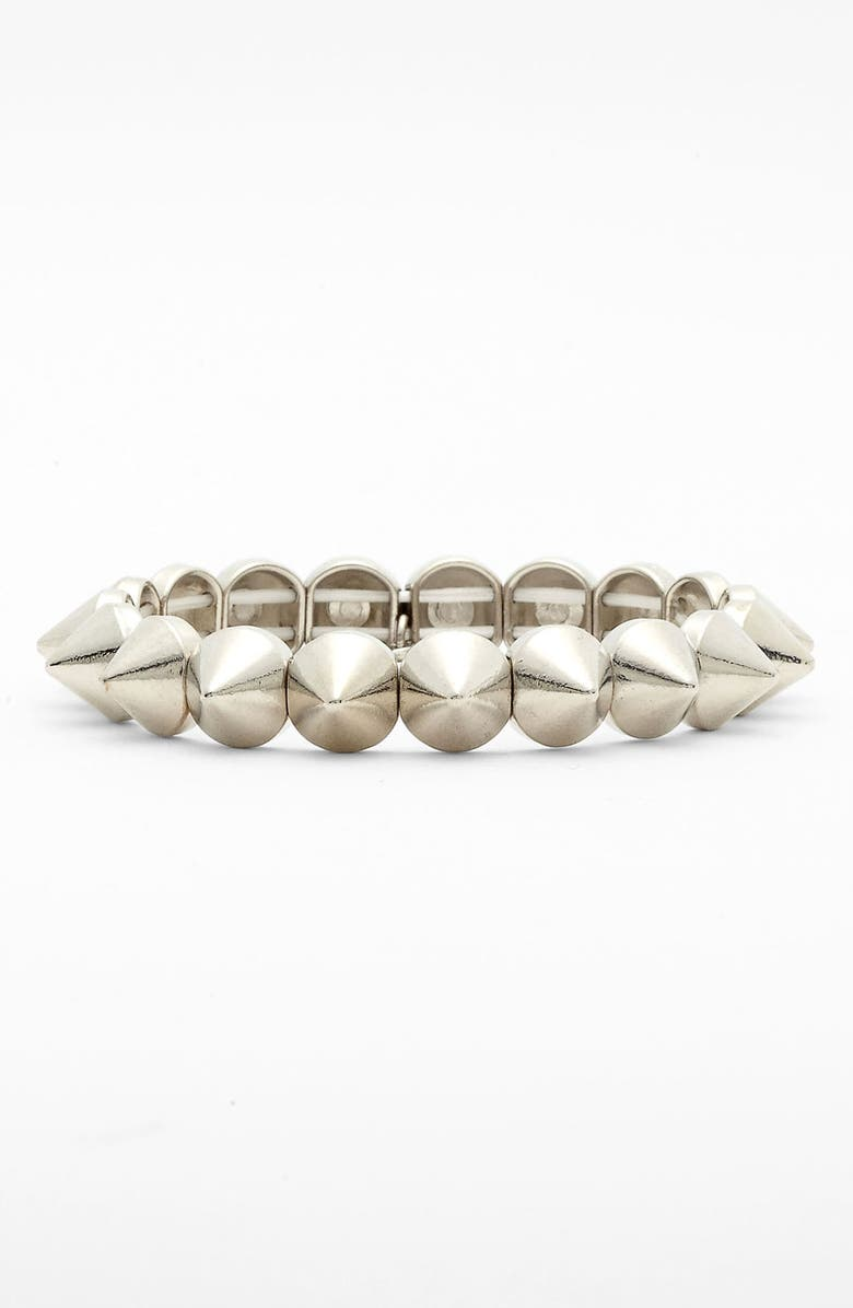 TASHA Spike Stretch Bracelet, Main, color, 040