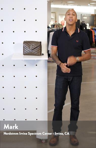 Small Loulou Matelassé Leather Shoulder Bag, sales video thumbnail