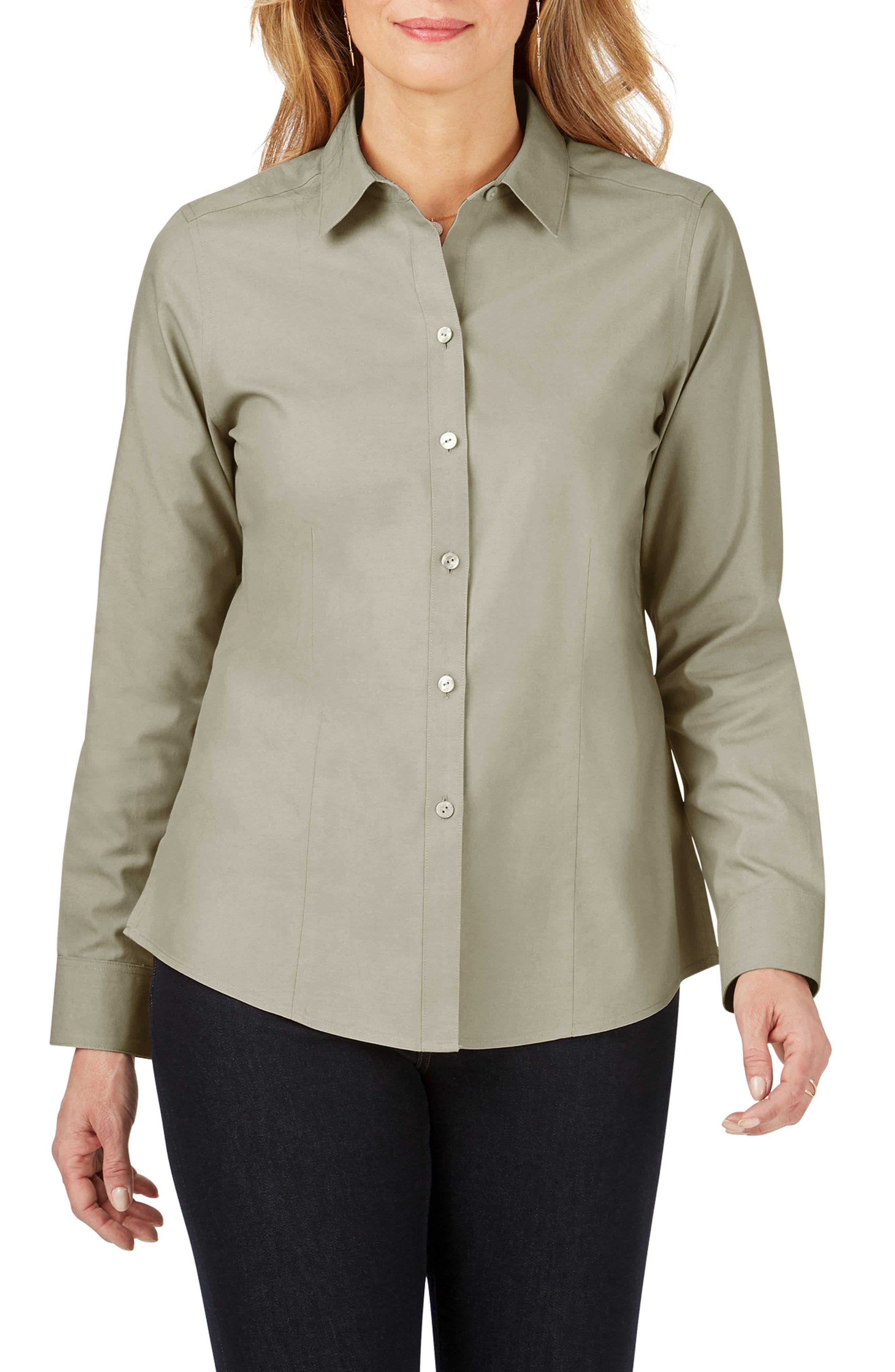Dianna Non-Iron Cotton Shirt