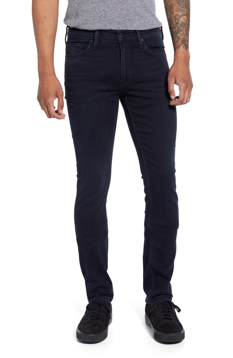 PAIGE Transcend Lennox Slim Jeans, Main, color, HIRSCH