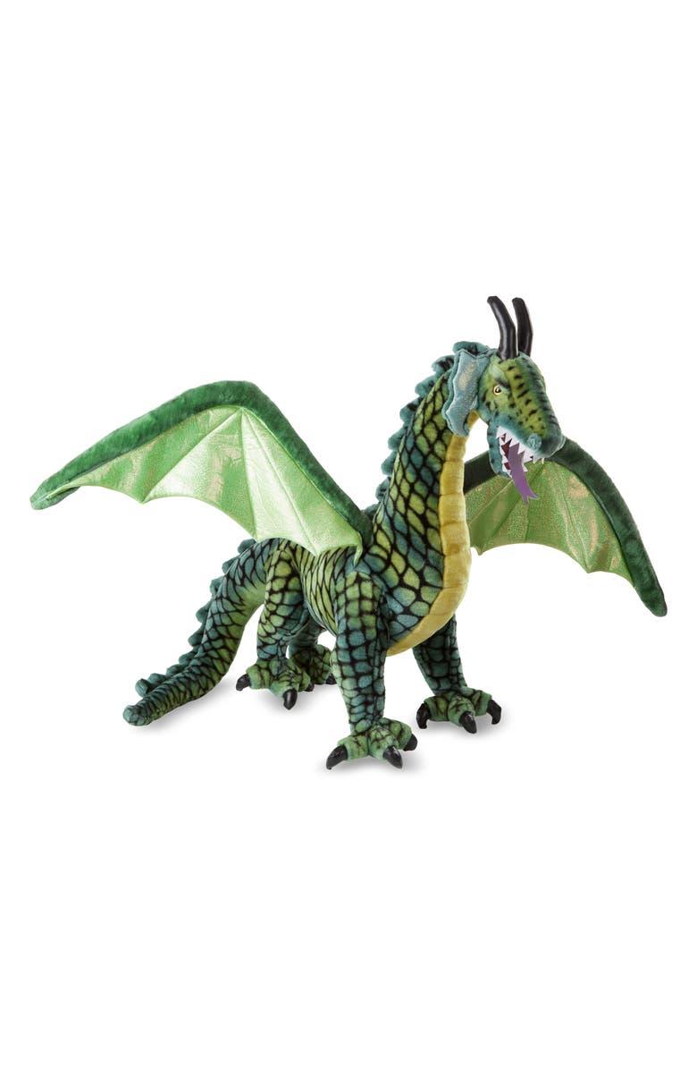 MELISSA & DOUG Giant Winged Dragon Plush Toy, Main, color, MULTI