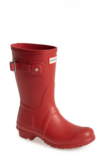 Hunter Boots Original Short Waterproof Rain Boot