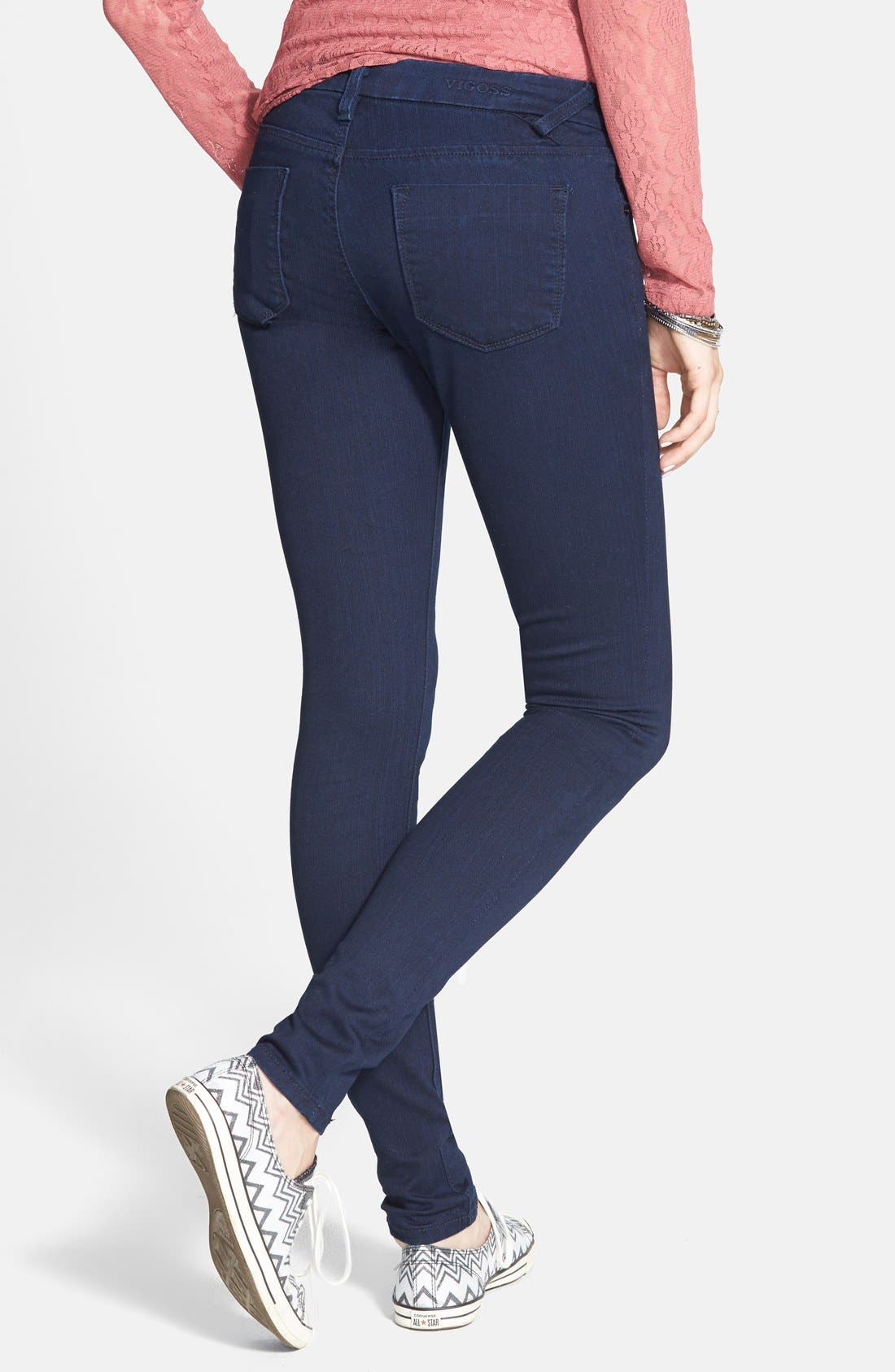 ,                             Skinny Jeans,                             Alternate thumbnail 2, color,                             403