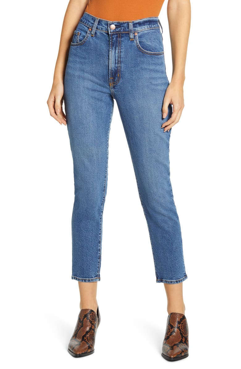 NOBODY DENIM Frankie High Waist Ankle Skinny Jeans, Main, color, CULTURE