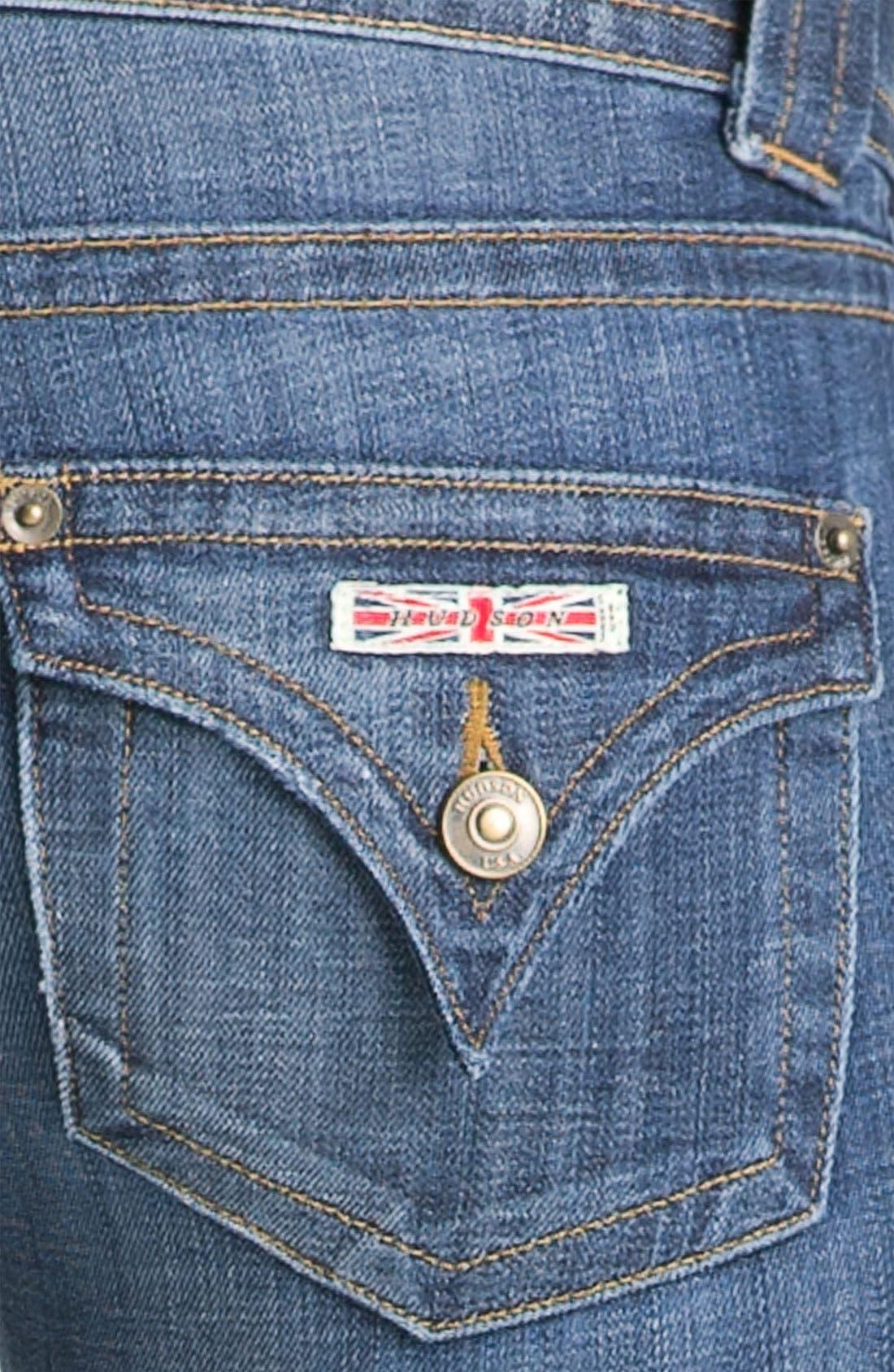 ,                             Signature Flap Pocket Bootcut Jeans,                             Alternate thumbnail 93, color,                             499