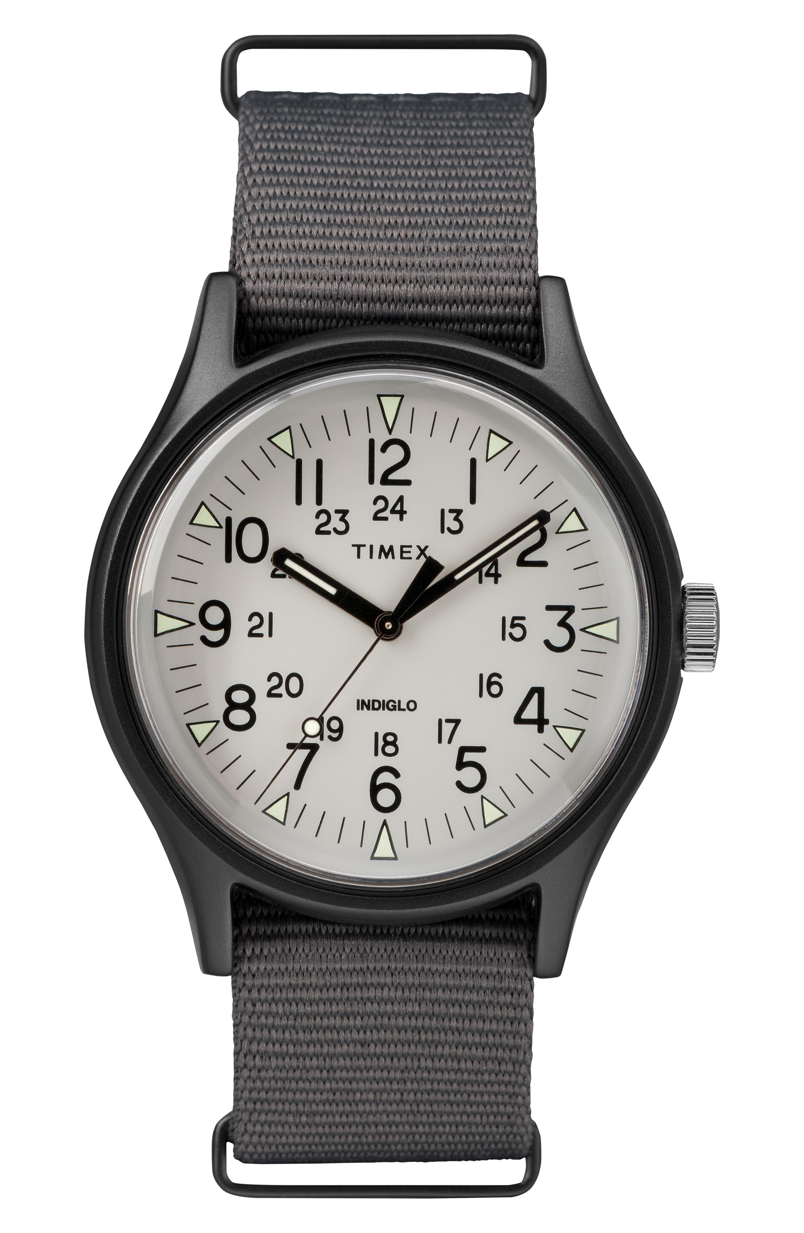 Timex Mk1 Nylon Strap Watch, 40Mm