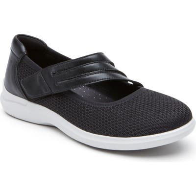 Aravon Pc Mary Jane Sneaker - Black