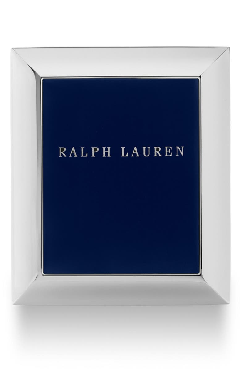 RALPH LAUREN Beckbury Picture Frame, Main, color, SILVER