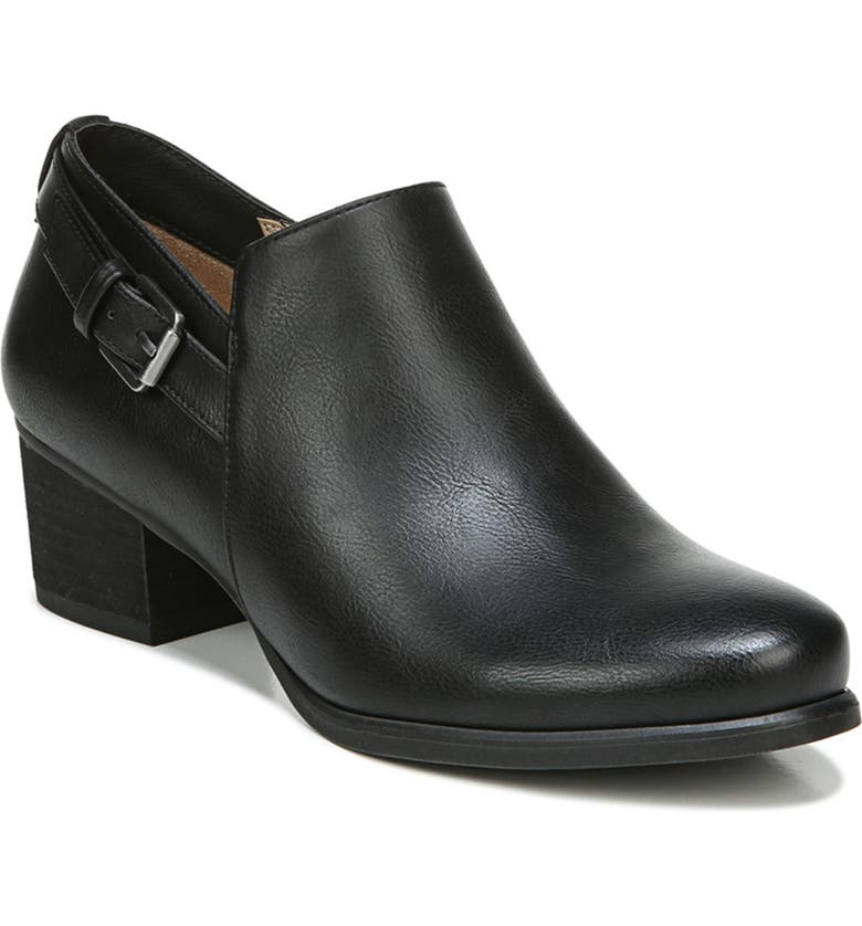SOUL NATURALIZER Campus Bootie - Wide Width Available, Main, color, BLACK SMOOTH