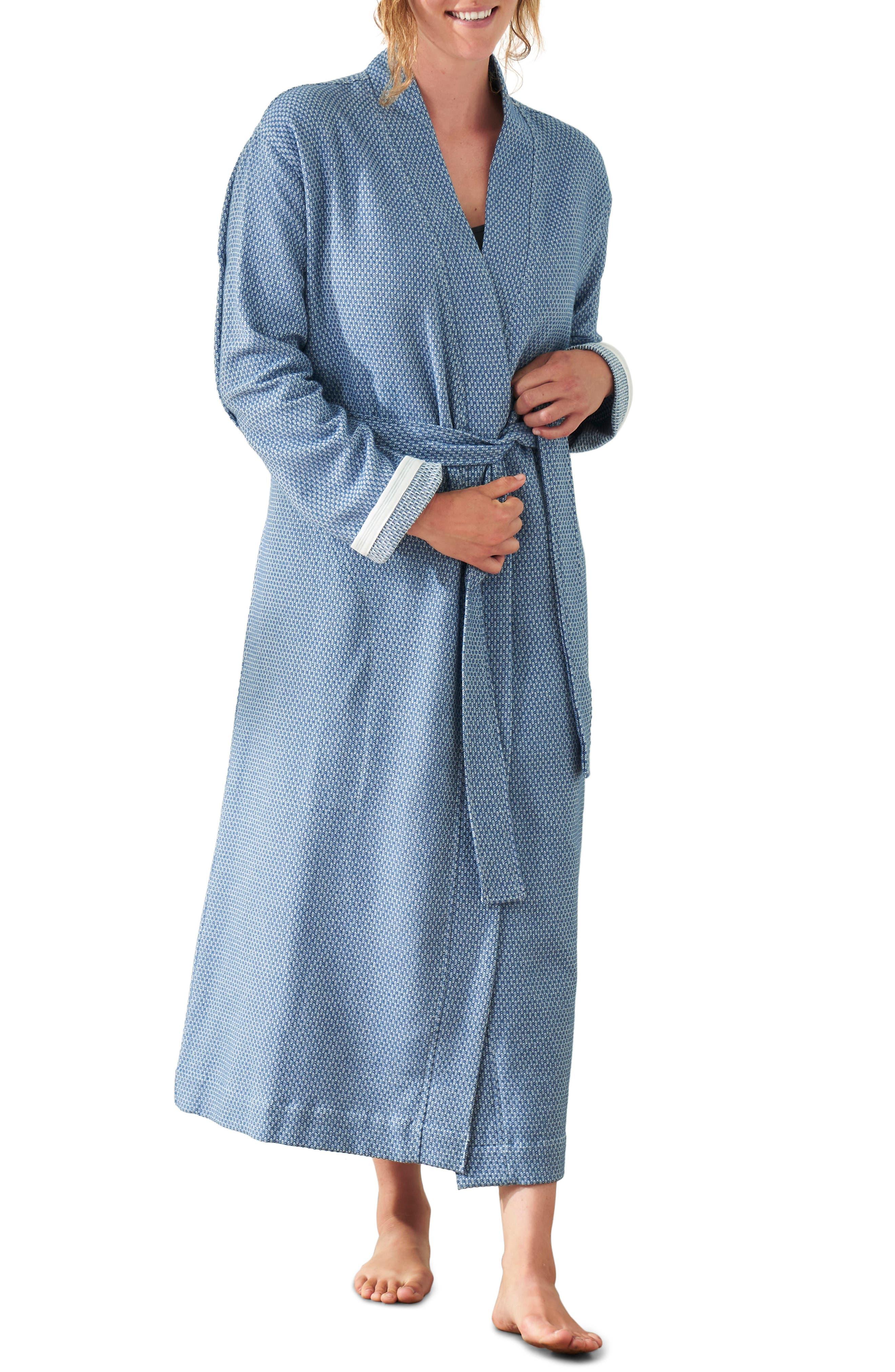 Coyuchi Unisex Mediterranean Organic Cotton Robe