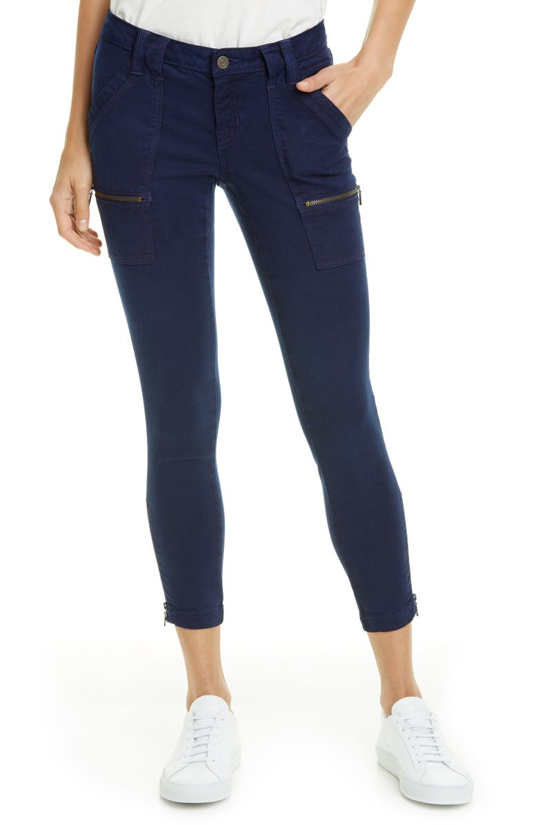 JOIE Park Skinny Pants, Main, color, DARK NAVY