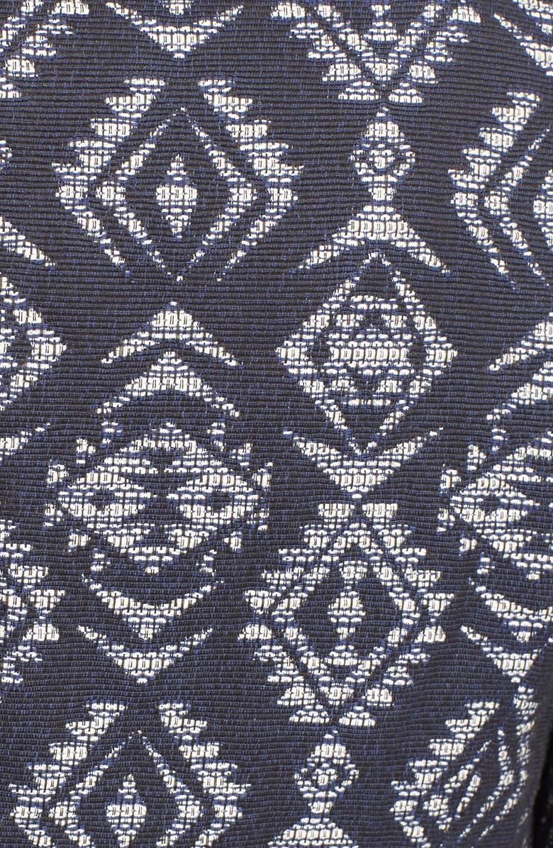 HELENE BERMAN Geometric Jacquard Jacket, Main, color, 470