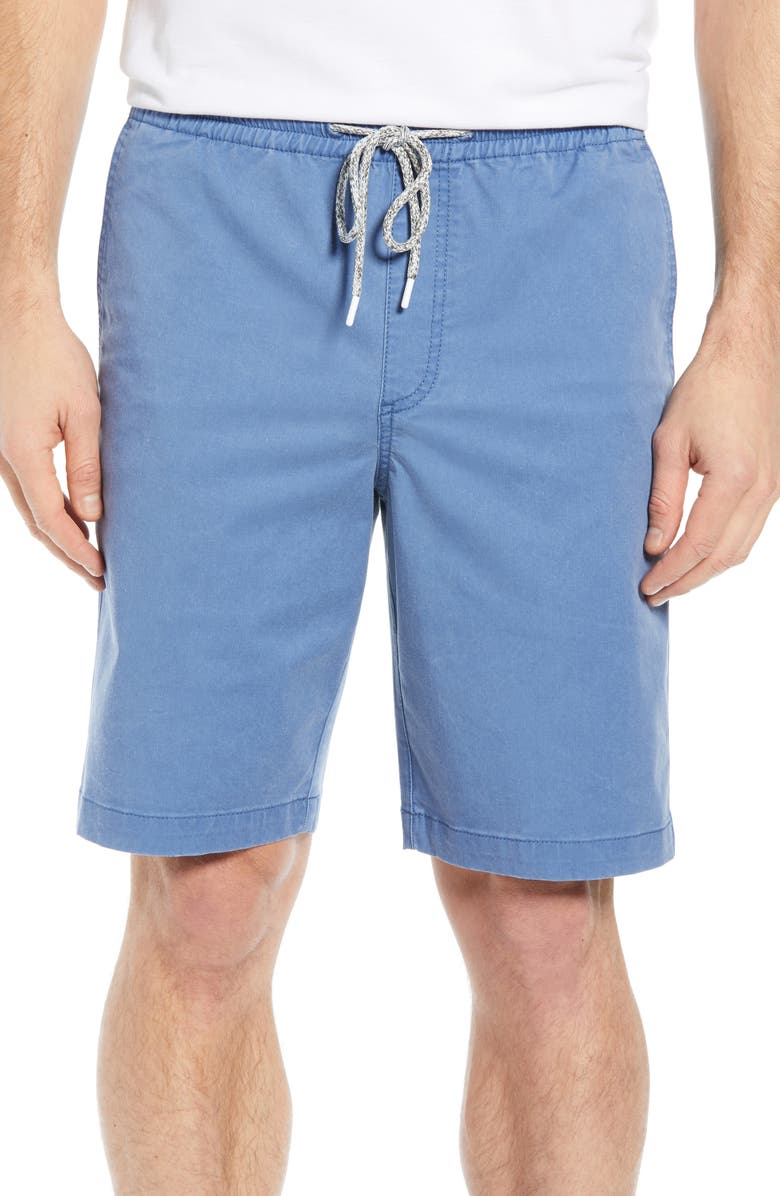 TOMMY BAHAMA Boracay Regular Fit Pull-On Shorts, Main, color, PORT SIDE BLUE