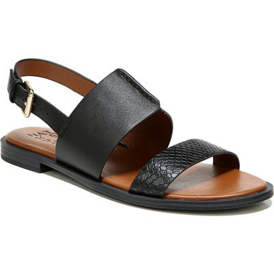 Naturalizer Fairfax Sandal- Black