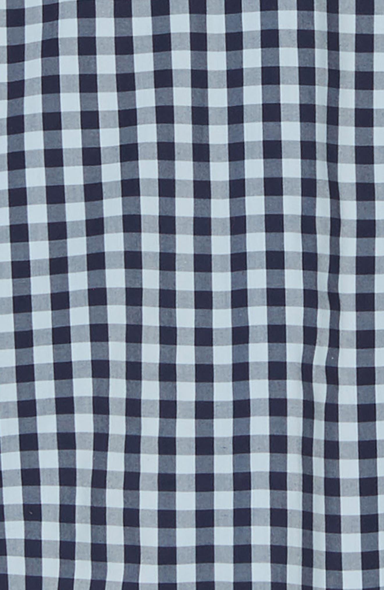 ,                             Tech-Smart Trim Fit Stretch Check Dress Shirt,                             Alternate thumbnail 26, color,                             415