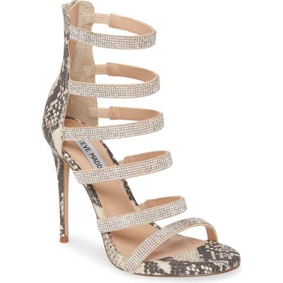Steve Madden Desired Sandal- Metallic