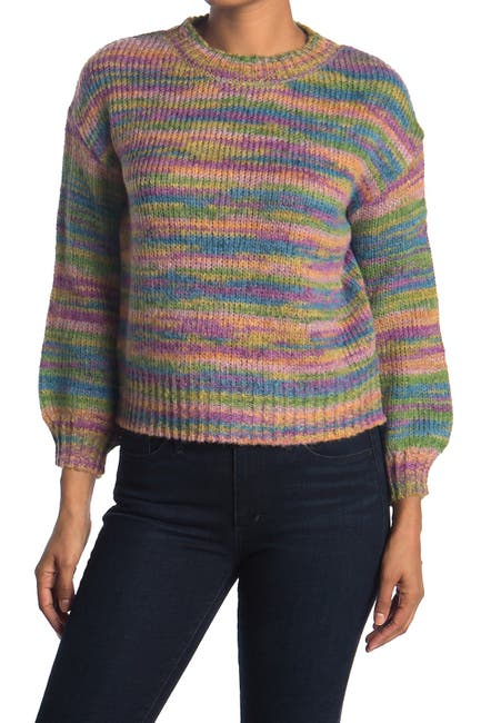 Image of Love by Design Rainbow Knit Sweater